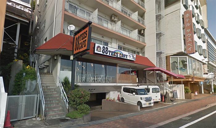 日本の直営店 88tees CAFE(ヤヤカフェ)