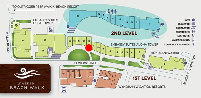 KAHALA SPORTSWEAR Waikiki Beach Walk(カハラ・スポーツウェア ワイキキ・ビーチ・ウォーク店)