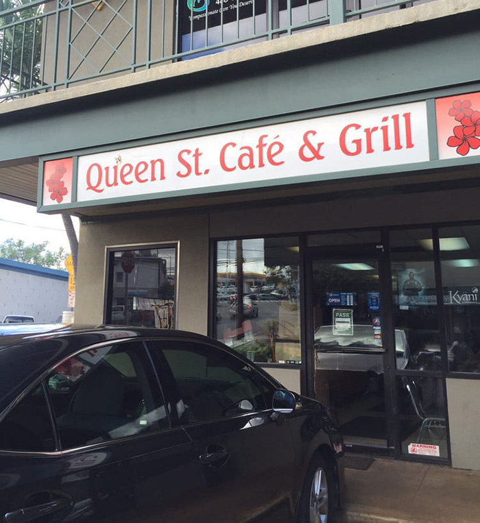 Queen St Cafe & Grill(クイーン・ストリート・カフェ&グリル)の場所