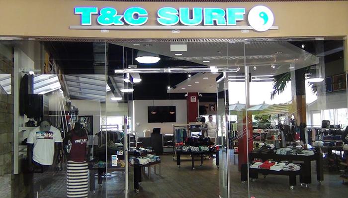 T&C Surf Ward Centre(ティーアンドシー・サーフ ワード・センター店)