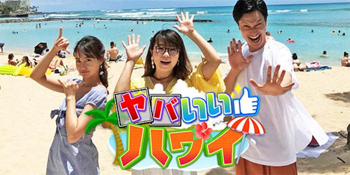 関西テレビで6/24深夜に「ヤバいいハワイ」が放送されるそうです